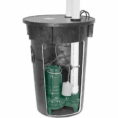Zoeller 912-0020 - 12 Hp Cast Iron Preassembled Sewage Pump System La Code