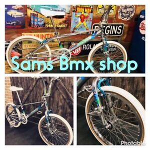 YOUR #1 STOP SHOP FOR MID - OLD SCHOOL NEEDS @ Sam's Bmx Shop..