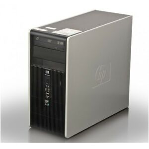 HP Compaq dc5800 Microtower E7500, 4G ram, 160 hdd win 10