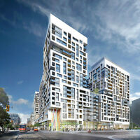 Preconstruction 2 Bed+2 Bath in  King West DownTown Tornto