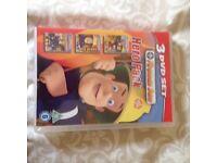 """Fireman Sam 3 DVD set. """"Hero pack"""". Never opened. Only £4"""