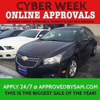BAD CREDIT CAN CRUZE INTO LOW MONTHLY PAYMENTS !!!