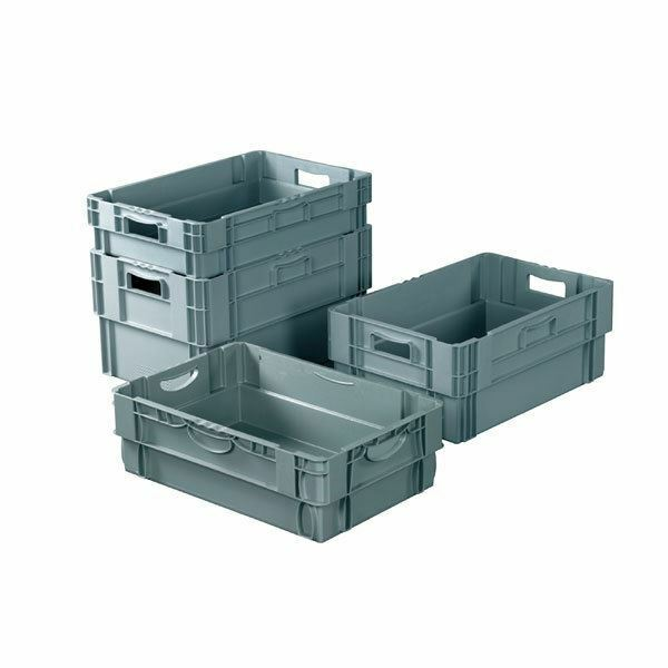 Topstore Stack & Nest Euro Container 60 Ltr - 600 x 400 x 320mm