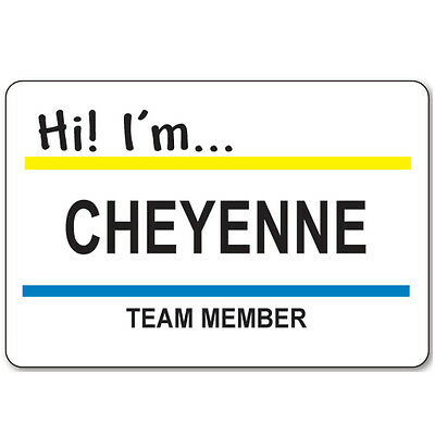 CHEYENNE BADGE & BUTTON HALLOWEEN COSTUME SUPERSTORE TV SHOW MAGNETIC