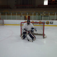 I am a hockey Goalie. I have pads and a car but not much talent