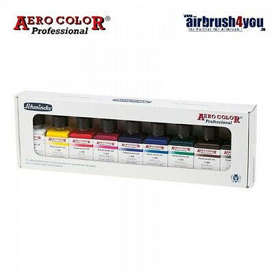 Aero Color Airbrush-Grundfarbenset BASIS #Schmincke 81108 097