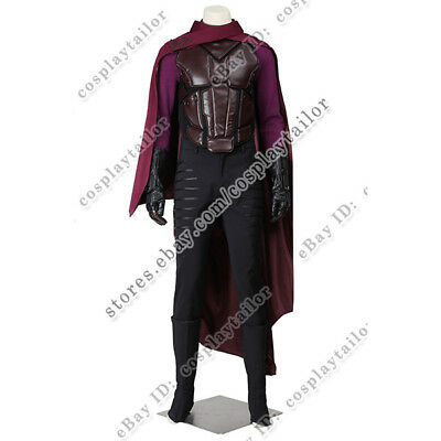 Days Of Future Past Magneto Costume (X-Men Days of Future Past Erik Lehnsherr Magneto Uniform Cosplay Costume)