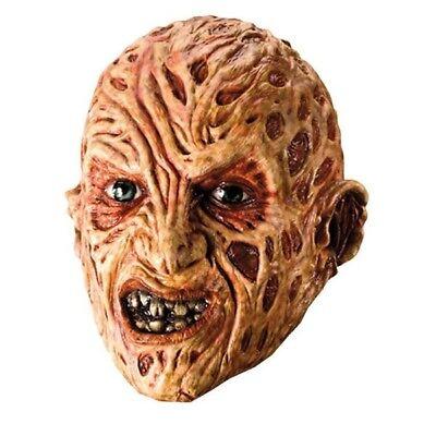 KOSTÜM-ZUBEHÖR FREDDY VINYL MASKE ADULT - Freddy Krueger Kostüm Maske