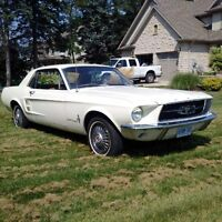Clean '67 Mustang for sale