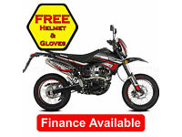 Lexmoto Adrenaline, 125cc Supermoto Enduro Trail Bike Motard *FINANCE*