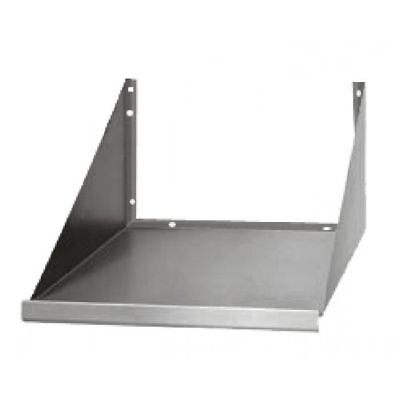 Microwave Oven Wall Shelf 24x18 - Stainless Steel