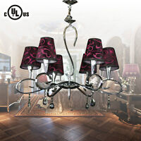 Chrome Finish Built Classic Style 6-Light Chandelier ,40%ON SALE