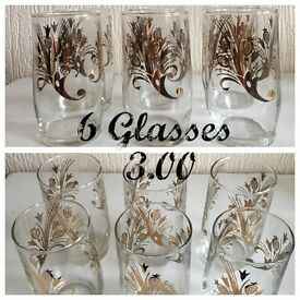 6 glasses