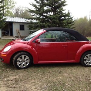 2010 VW New Beetle Convertible-REDUCED!