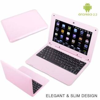 """10"""" Inch 4GB Pink Android 2.2 Mini Notebook Laptop Murrurundi Upper Hunter Preview"""
