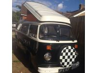 Tax exempt 1973 bay window westfalia T2 Campervan VW dub