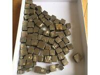Pyrite rocks