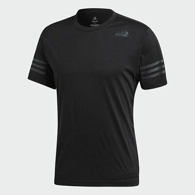 Adidas Men Tshirts FreeLift Climacool Running Half sleeve Training Top Gym Black