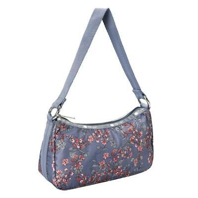 LeSportsac Classic Collection Deluxe Lulu Bag in Laelia Dusk NWT