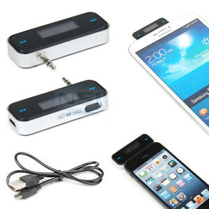 Wireless 3.5mm In-car Fm Transmitter for iPhone 6/5S, Galaxy S6