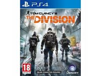 """""""The Division"""" PS4 game. Perfect condition"""