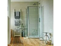 Shower side panel + door 70cm