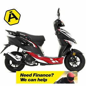 LEXMOTO ECHO 50CC - 50 MOPED - LEARNER LEGAL - TWIST & GO