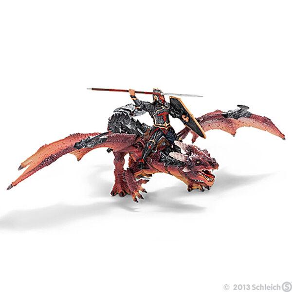 NEW SCHLEICH WORLD OF KNIGHTS 70100 Dragon Rider & Dragon