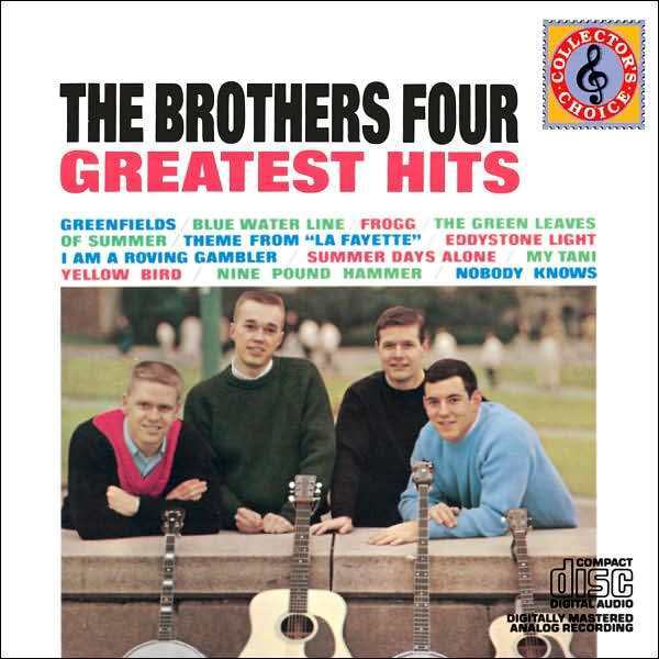 BROTHERS FOUR : GREATEST HITS (CD) sealed