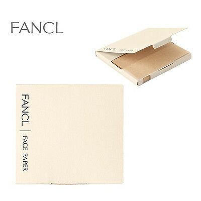 Fancl Natural Face Oil Blotting Paper 100 sheets x 3Box JAPAN made Free shipping