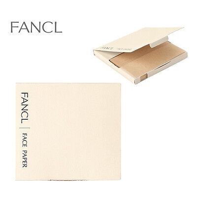 Fancl Natural Face Oil Blotting Paper 100 sheets x 3Box JAPAN made Free shipping