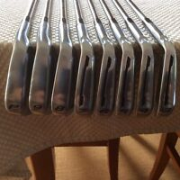 Taylormade TP MC irons, KBS tour shafts New condition 3-pw