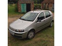 Fiat Punto ELX 8V 1.2 Petrol 2002 5dr Hatchback Manual Silver