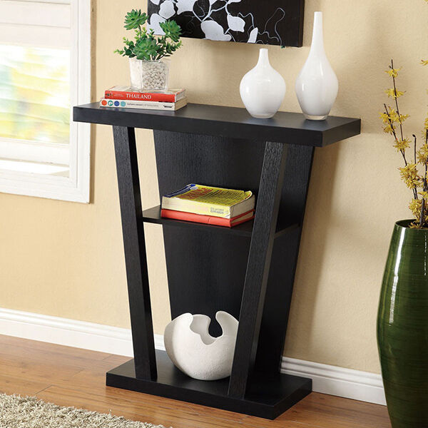 6 ways to decorate with a sofa table ebay. Black Bedroom Furniture Sets. Home Design Ideas