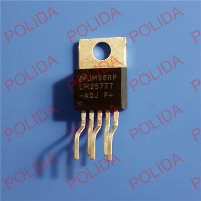 10pcs Step-up Voltage Regulator Ic Nsc To-220-5 Lm2577t-adj Lm2577t-adjnopb