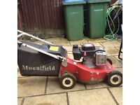 Mountfield mirage petrol lawnmower