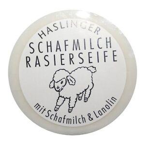 (6,17€/100g) Haslinger Rasierseife Schafmilch