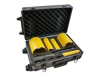 Addax 5 Piece Diamond Core Kit With Case