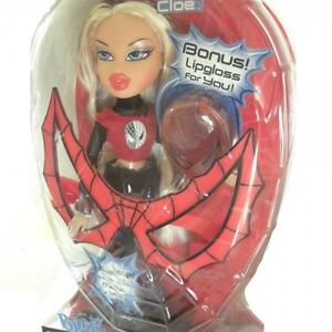 Bratz Spiderman Doll Cloe With Bonus Lip Gloss (2008)