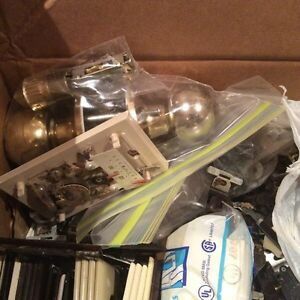 SPARE HARDWARE AND ELECTRICAL PARTS RELATED ITEMS