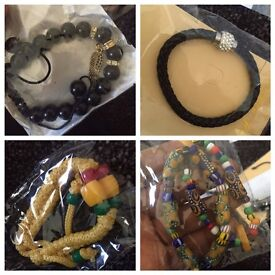 Hand Bands Beads and Bracelets