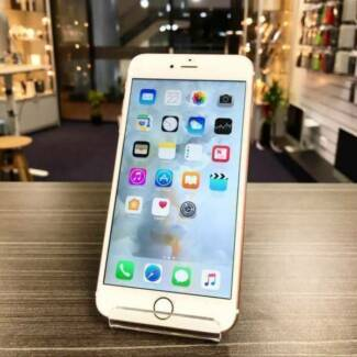 GOOD CONDITION PHONE 6S PLUS 128GB ROSE GOLD WARRANTY AU MODEL