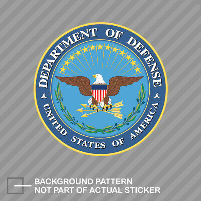 United States Department of Defense Seal Sticker Decal Vinyl dod