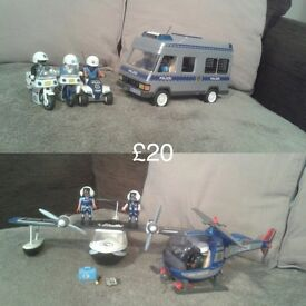 Playmobil toys immaculate condition!