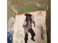Halloween pirate custom