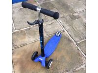 T bar micro scooter