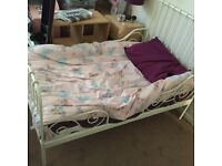 Toddler bed converts to single bed IKEA