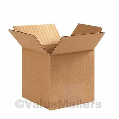 6x4x4 25 Shipping Packing Mailing Moving Boxes Corrugated Carton