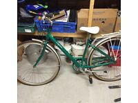 Raleigh caprice ladies bike been sat in garage for two years