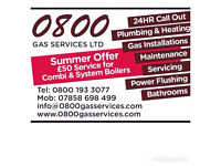 0800 Gas Services - Gas safe registered engineer